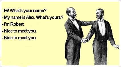 Как представиться на английском.